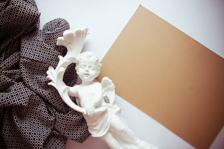 neutral: elegant background in neutral colors for sympathy card with epmty copy space