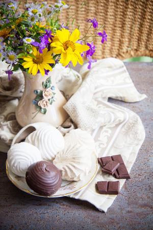 endorphine: delicious zephyr with chocolate and vanilla