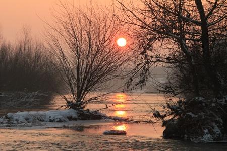 Sunset 写真素材