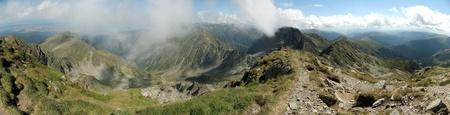 The carpathians in Transylvania