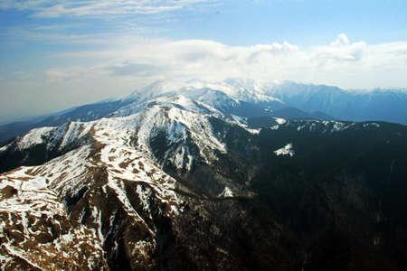 High mountains in Transylvania