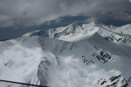 Alps in Transylvania Stock Photo