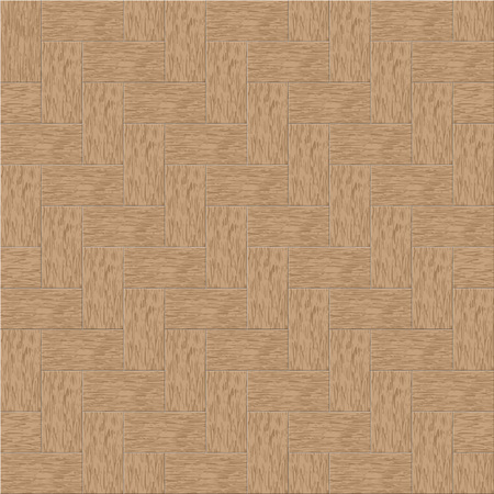 parquetry: Simple vector parquet pattern and background. Arranged layer structure. Illustration
