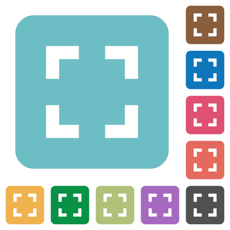 selector: Flat selector tool icons on rounded square color backgrounds.