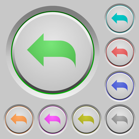 reply: Reply to mail color icons on sunk push buttons
