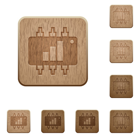 acceleration: Hardware acceleration on rounded square carved wooden button styles