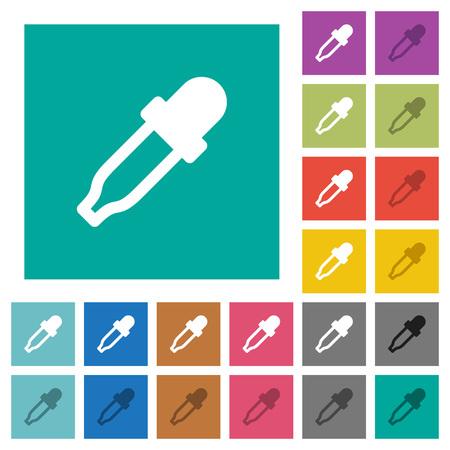 Color picker multi colored flat icons.