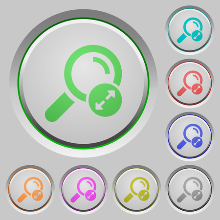 Extending search results color icons on sunk push buttons Illustration