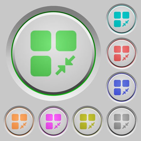 Reduce component color icons on sunk push buttons Illusztráció