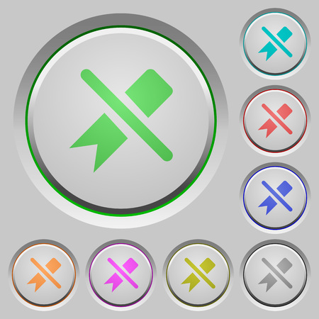 Untag color icons on sunk push buttons