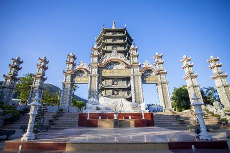 Linh Ung Pagoda on Son Tra peninsula, Da Nang city, Vietnam
