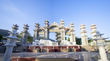 Linh Ung Pagoda on Son Tra peninsula, Da Nang city, Vietnam