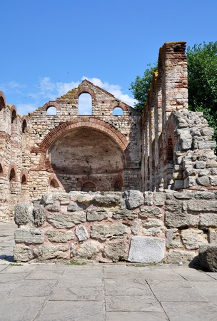 Bulgaria.&nbsp,Old&nbsp,Nessebar, Old&nbsp,Metropolitan Church&nbsp,of St. Sophia.  Stock Photo - 13160384