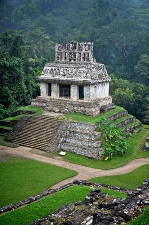piramide humana: Las ruinas de Palenque