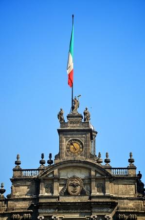 Top of Mexico City Metropolitan Cathedral photo