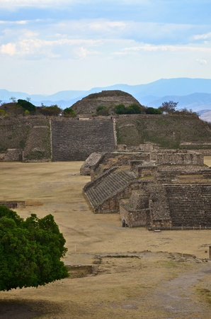 Another view of Monte Alban ruins, Mexico  photo