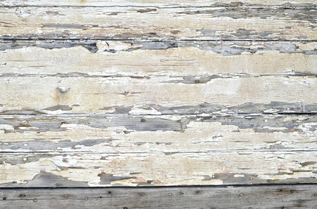 Vintage white paint background of wood texture  photo