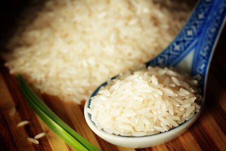 Uncooked rice photo