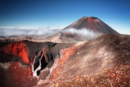 Mt  Ngauruhoe  a k a  Mount Doom  in New Zealand