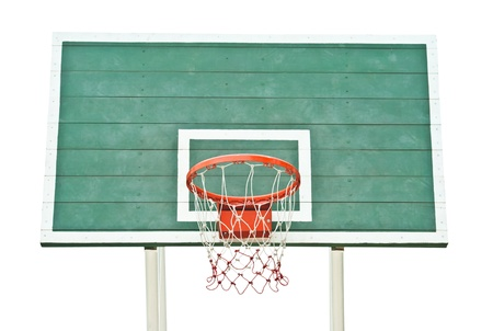 outdoor basketball hoop  Stock Photo - 9679645