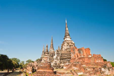 ayuttaya: Wat Mongkolpraphitara, Ayutthaya, Thailand  Stock Photo