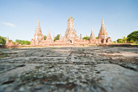 ayuttaya: Wat Chaiwattanaram Temple, Ayutthaya, Thailand