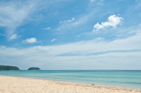 Karon beach at Phuket, Thailand  Stock Photo - 9937599