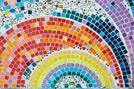 mosaic tile: Mosaico colorato