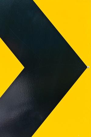 yellow and black marking  photo