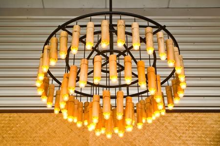 bamboo lantern Stock Photo - 9938261