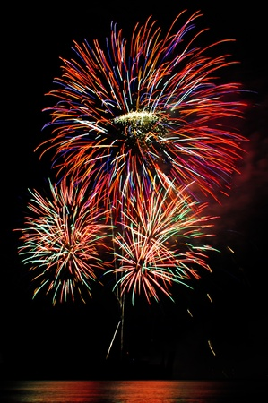Fireworks display  Stock Photo - 9938371