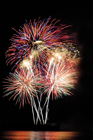 Fireworks display  Stock Photo - 9938377