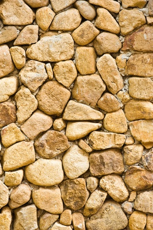 old stone wall: Rock wall