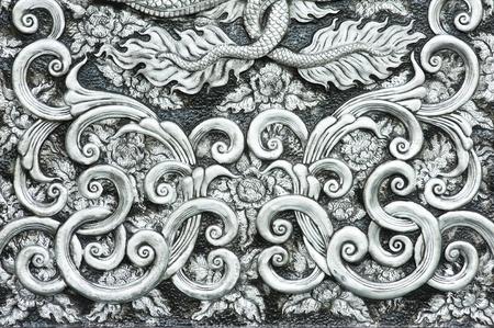 barroco: textura de chapa de plata