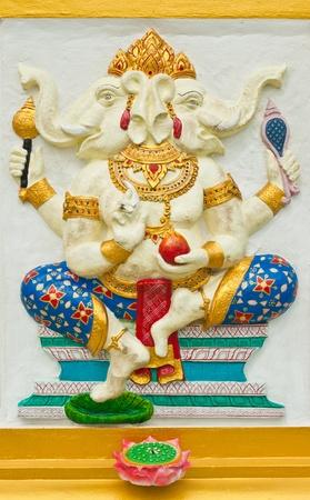 parvati: Indian or Hindu God Named Dwimukha Ganapati at Wat Saman, Chachoengsao, Thailand  Editorial