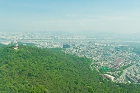 Seoul city of South Korea  photo