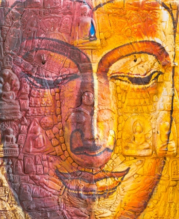 The face of Buddha  Stock Photo - 10100308