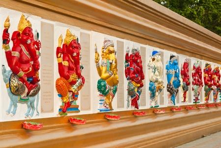 lord: Indien ou hindou Dieu au Wat Saman, Chachoengsao (Thaïlande).  Banque d'images