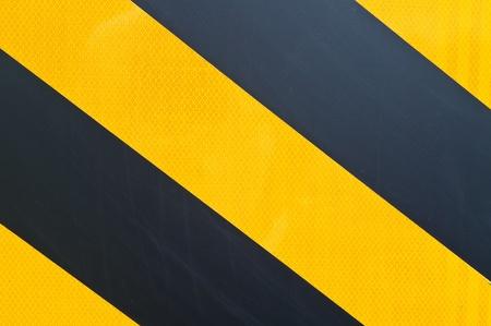 yellow and black marking Stock Photo - 10100458