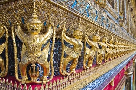 Statue of Garuda ,Grand Palace In Bangkok  photo