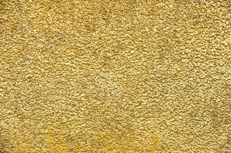 scratched metal: Golden wall background