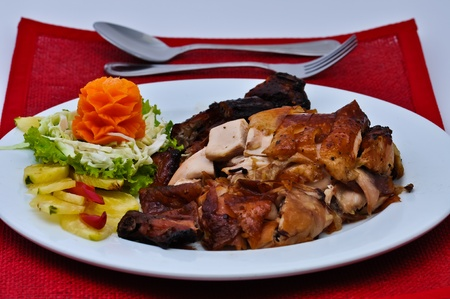 confide: Roast duck chinese style