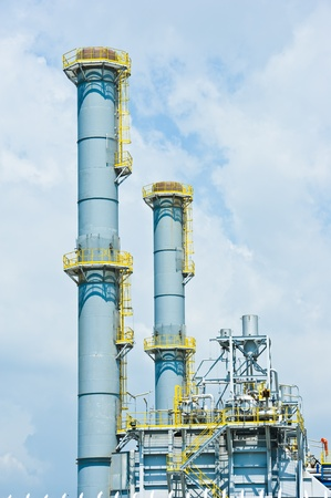 catalytic:  industrial plant with sky  Editorial