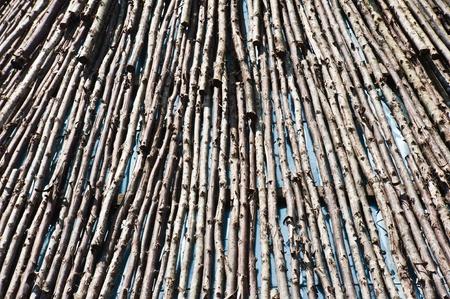 duckboards:  wood texture