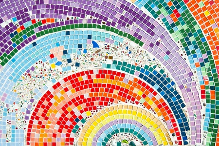 Kleurrijke mozaïek Stockfoto