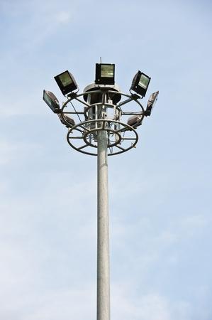 Spot-light tower  photo