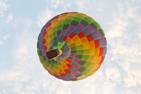 adventure aeronautical: Colorful Hot Air Balloons  Stock Photo