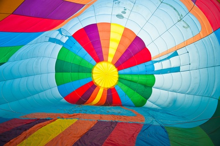 adventure aeronautical: Inside Colorful Hot Air Balloons