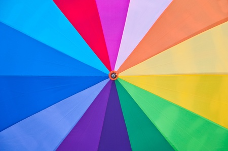 Colorful umbrella  photo