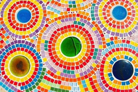 ceramica: Hermoso mosaico